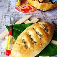 甜玉米洋葱小面包