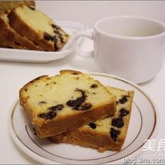 葡萄干炼奶蛋糕