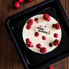 冻樱桃芝士蛋糕