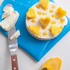 冻芒果芝士蛋糕