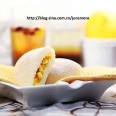 芒果奶酪白面包