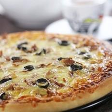 金枪鱼黑橄榄pizza