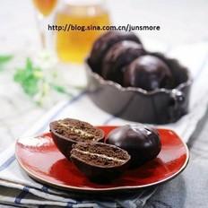 巧克力奶油夹心派
