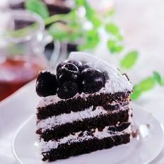 极简版黑森林蛋糕