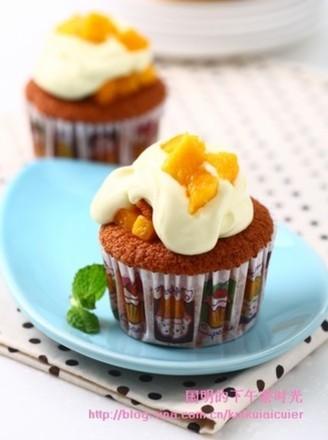 芒果杯子蛋糕的做法