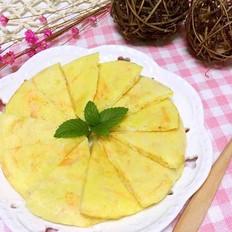 宝宝辅食 鳕鱼蔬菜鸡蛋饼