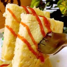 宝宝辅食 鸡肉玉米豆腐饼