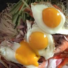 简易韩国拌饭