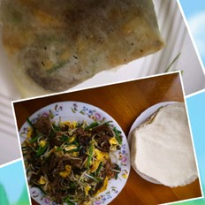 三鲜蔬菜卷