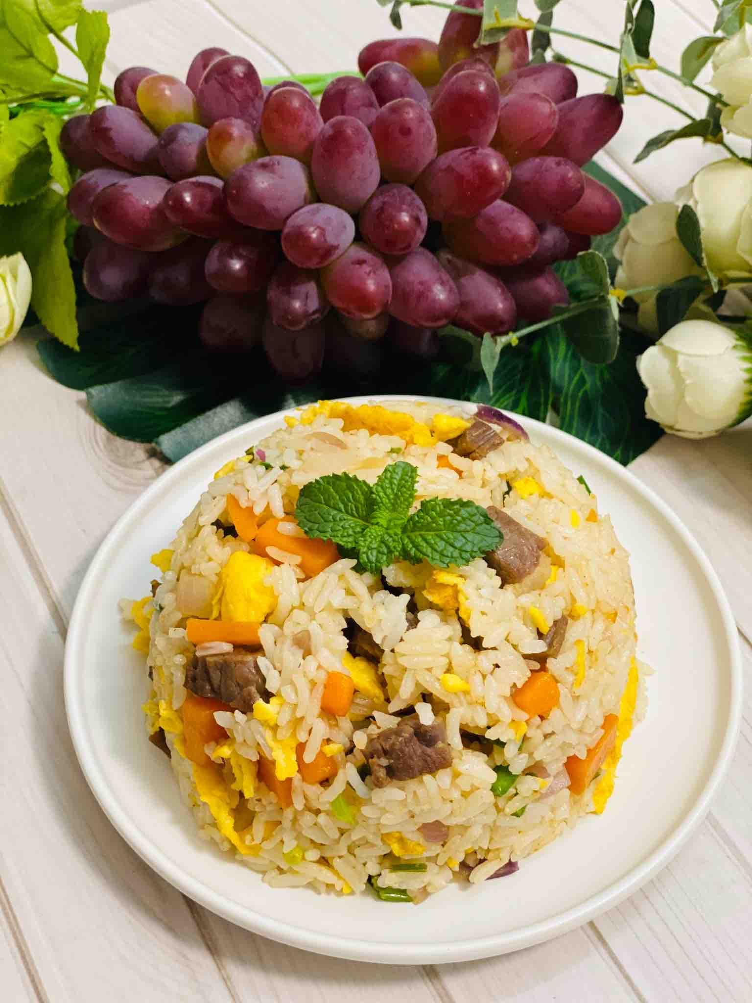 七彩捞饭,一锅米饭不够吃