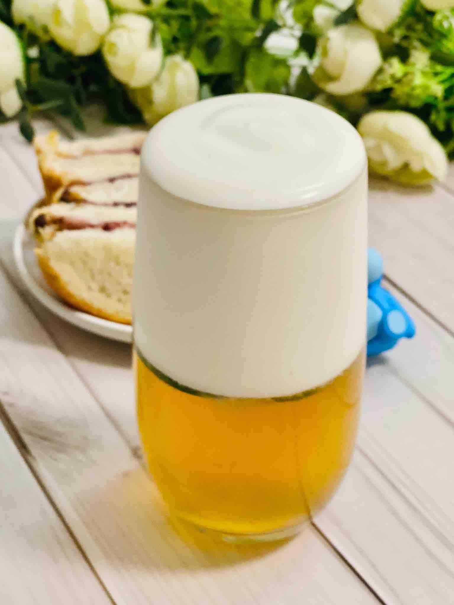 喝芝士奶盖,不用找喜茶,自己在家轻松做。