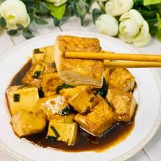 香葱焖豆腐