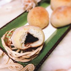 老式豆沙面包