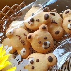 小熊蛋黄饼干