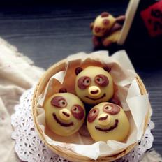 熊猫烧果子
