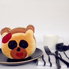 蛋糕夹心小熊面包