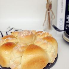 花辫豆沙面包