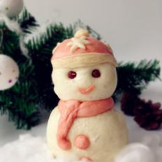 雪人豆沙包