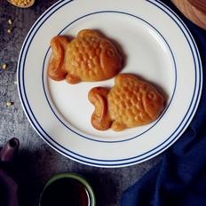 小鱼儿蔓越莓绿豆月饼
