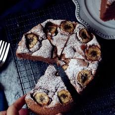 香蕉可可蛋糕