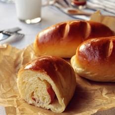 肉桂培根芝士面包卷