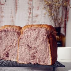 面包机版黑米手撕面包