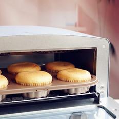 小烤箱版戚风纸杯蛋糕