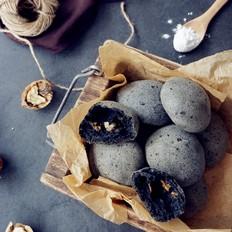 黑麻石麻薯包黑麻石