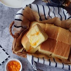 咸蛋黄芝士酱古早蛋糕