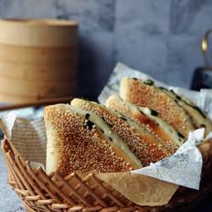 葱香芝麻烤饼
