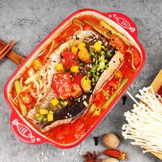 鱼谷稻番茄小份烤鱼饭制作流程