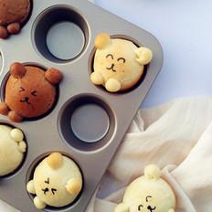萌萌哒小熊面包