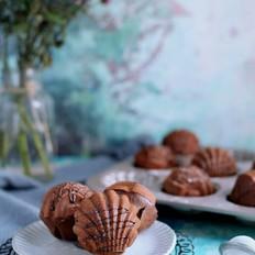 浓情巧克力玛德琳的做法