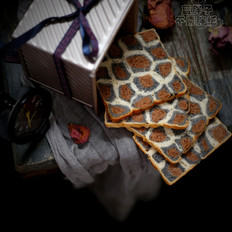妩媚性感的豹纹吐司的做法
