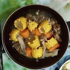玉米萝卜淮山薏米排骨汤
