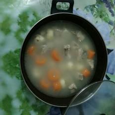 马蹄胡萝卜骨头汤