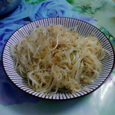虾米炒绿豆芽