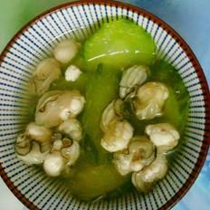 青瓜生蚝汤
