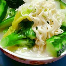 浓汤宝蔬菜面