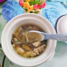 海马田七炖鸡汤