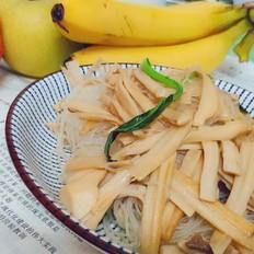 鸡腿菇炒粉丝