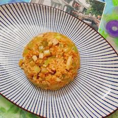 芹菜炒米饭