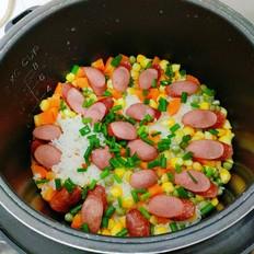科尔沁美式牛肉热狗香肠焖饭