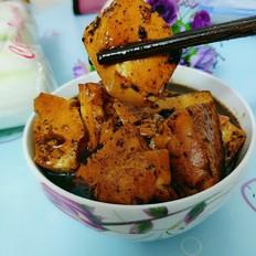 甜醋猪手汁豆腐
