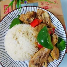 胚芽米盖浇鸡肉饭