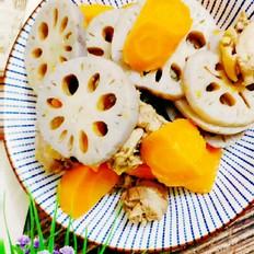 莲藕烧北京油鸡