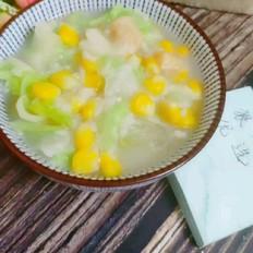 杂蔬胚牙米粥