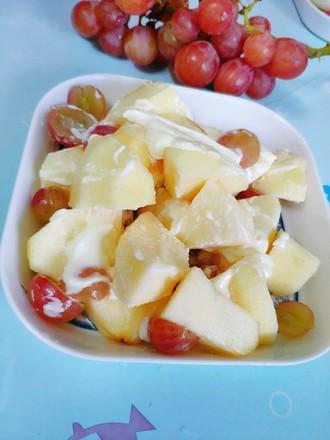 苹果葡萄沙拉的做法