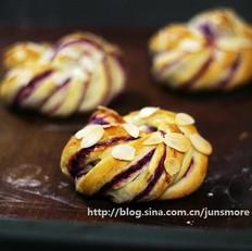 紫薯面包卷