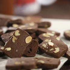 巧克力坚果饼干